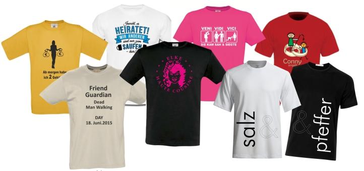 Poltershirts, Funshirts, Geburtstagsshirts von Logisch Loder Textildruck in Österreich